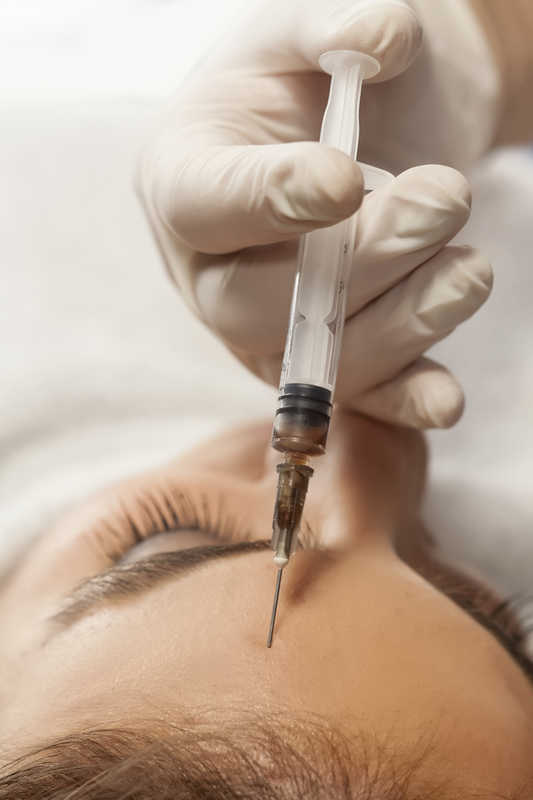 Botox injection in woman's forehead | You've Decided to Try Botox | How to Figure the Cost | Masterpiece Skin Restoration