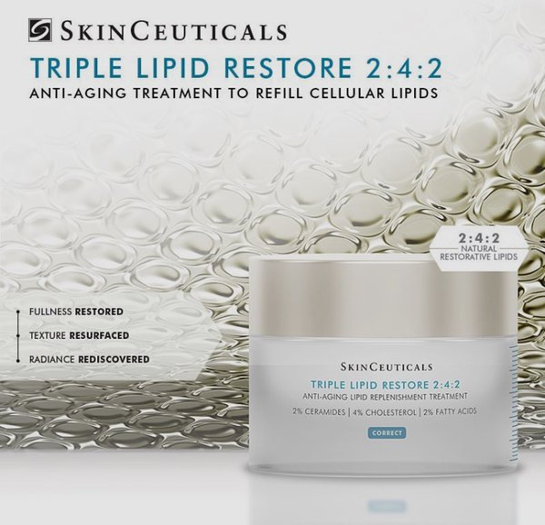 SkinCeuticals Triple Lipid Restore | Why You Should Use Moisturizers Every Day | Masterpiece Skin Restoration