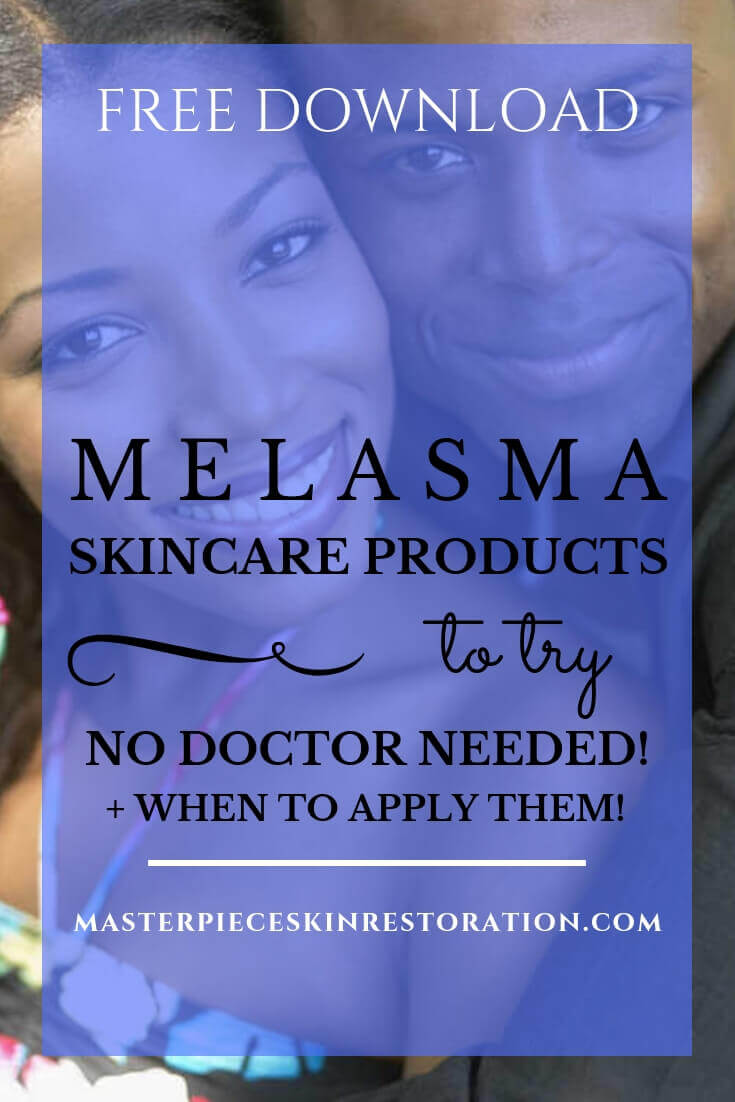 "Smiling, embracing dark skinned couple with blue text overlay, ""Free Download 