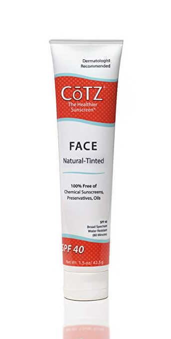 CoTZ Mineral Sunscreen SPF 40