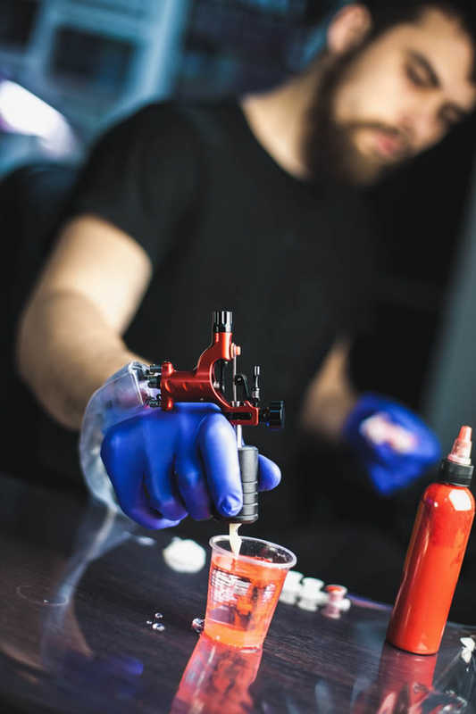 Tattoo Artist, tattoo gun and ink | A New Type of Tattoo Removal | Trans Epidermal Pigment Release | Masterpiece Skin Restoration