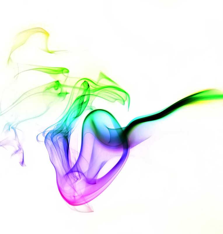rainbow colored smoke | 8 Ingredients in Lip Balm & Cosmetics That Cause Allergies | Masterpiece Skin Restoration