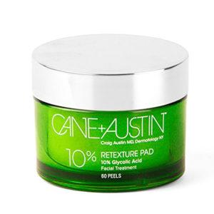 Cane + Austin Retexturizing Treatment Pads 10% | Shop Skincare | Masterpiece Skin Restoration