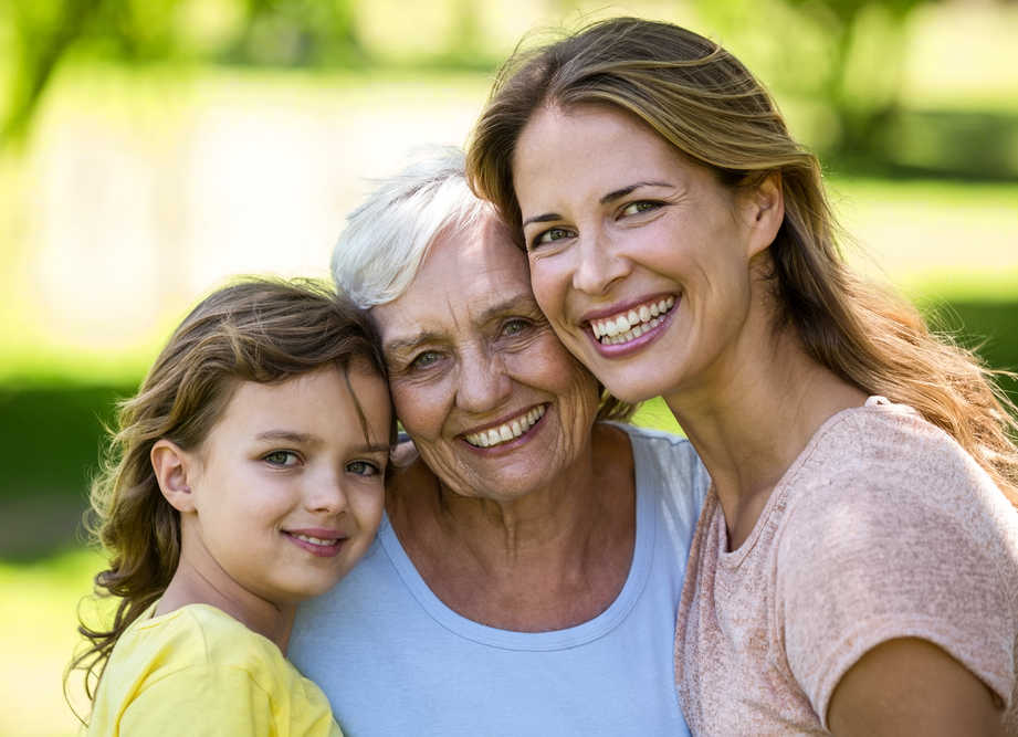 Family-Grandmother, Mother, Grandaughter smiling | Home | Masterpiece Skin Restoration