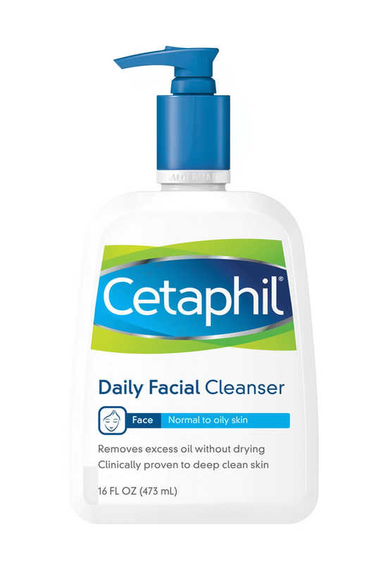 Cetaphil Daily Facial Cleanser | 16 Lifestyle Changes to Fight Acne + Shop Skincare for Acne | Masterpiece Skin Restoration