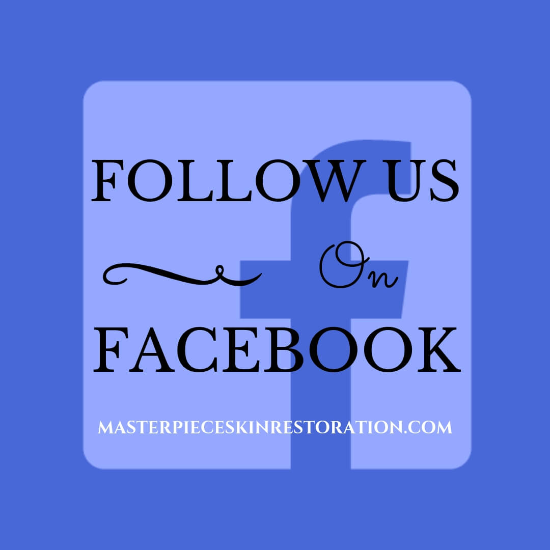 "FaceBook logo with blue text overlay, ""Follow Us on FaceBook 