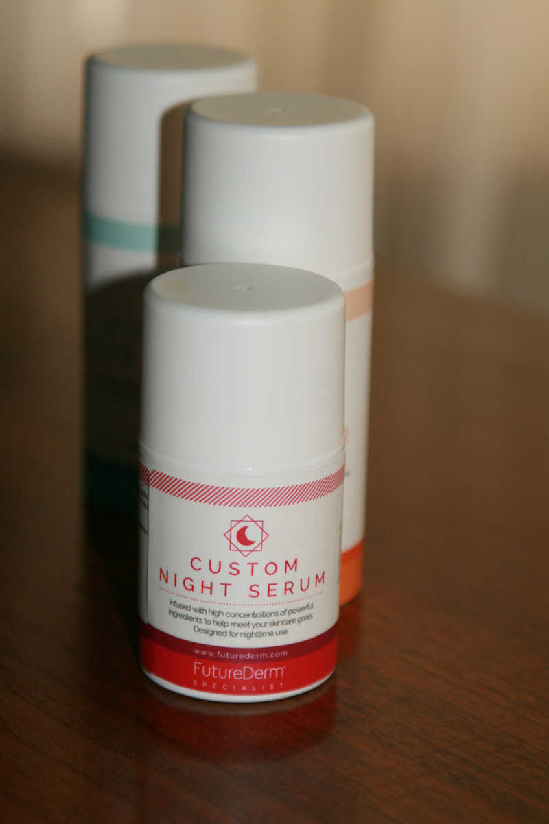 FutureDerm Custom Night Serum | MasterpieceSkinRestoration.com
